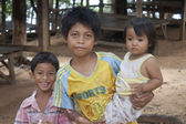 Young children in Kampot, Cambodia — Stock Photo