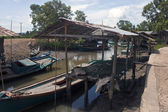 Fishing village near Kampot — Stock Photo