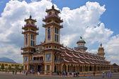 Cao dai templo — Foto de Stock