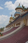 Roof of Cao Dai Temple — Stock Photo