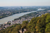 View on a city of Bonn — Stock Photo