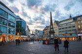 Market Square in Bonn — Stock Photo