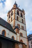 Igreja de st. gangolf em trier — Fotografia Stock