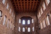 Interior of Basilica of Constantine — Stok fotoğraf
