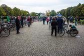 Bicycle market — Stock Photo