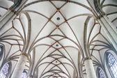 Ceiling in St. Lamberti church in Munster — Stock Photo