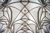 Ceiling in St. Lamberti church — Stockfoto