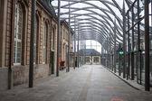 卢森堡的火车站 — 图库照片