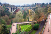 Adolphe bridge in Luxembourg — Stock Photo