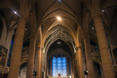 Notre-dame kathedraal in luxemburg — Stockfoto