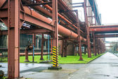 Coking plant at Zeche Zollverein Coal Mine — Stock Photo