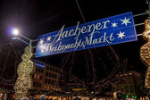 Christmas market in Aachen — Stock Photo