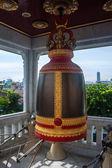 Bell in Wat Traimit Temple — Stockfoto