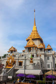 Wat Traimit temple — Stock Photo