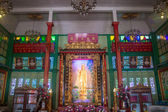 Interior of a chinese temple in Chinatown — Photo