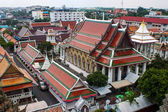 Buildings at Wat Arun temple — Stock Photo