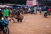 パクセの市場のビュー — ストック写真