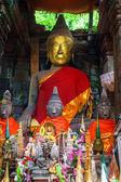 Buddha statue in Wat Phu Champasak — Foto de Stock