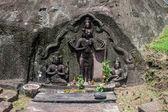 Shiva, Vishnu and Brahma statue — Foto de Stock