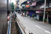 查看从一列火车在曼谷 — 图库照片