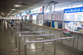 Ticket counters at Mo Chit bus station — 图库照片