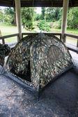 Campsite at Khao Yai National Park — Stock Photo