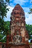 Wat Mahathat temple in Ayutthaya — Stock Photo