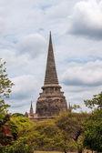 Stupa at Wat Phra Sri Sanphet Temple — Stock Photo