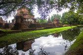 Wat Mahathat temple ruin — Foto Stock