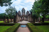 Wat Si Sawai temple ruin — Stock Photo