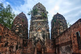 Wat Si Sawai temple ruin — Foto Stock