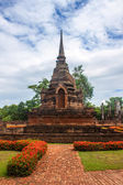 Wat Sa Si temple ruin — Stock Photo