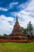 Wat Sa Si temple ruin in Sukhothai — Stock Photo
