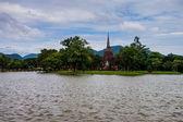 Wat Sa Si temple ruin — Stock Photo