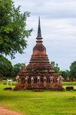 Wat Srosak temple ruin in Sukhothai — Foto Stock