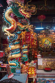Interior of a Chinese temple — Stock Photo
