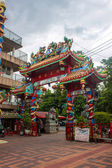 Gate at Chinese temple — Foto Stock