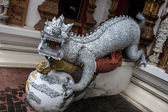 Sculpture at Wat Bupharam temple — Stock Photo