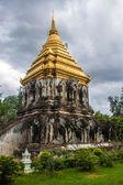 Stupa in Wat Chiang Man Tempel — Stockfoto