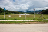 Airport in Pai — Stock Photo