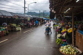 local market in Mae Hong Son — Stock Photo