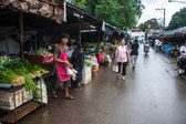 Market in Mae Hong Son — Stock Photo