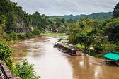 View of Burma railway  — Stock Photo