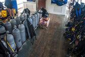 Scuba dalış ekipmanı — Stok fotoğraf