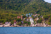 Tropische resort auf ko tao island — Stockfoto