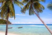 パンガン島でハード ヤオ ビーチ — ストック写真