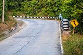 Strada sull'isola di koh phangan — Foto Stock