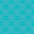 Vintage damask pattern linear vector background — Stok Vektör #17592279