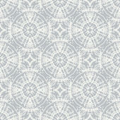 White lace, simple vector pattern — Stock Vector