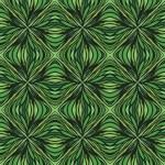 Had drawn linear green vector pattern — Stock Vector #18434653